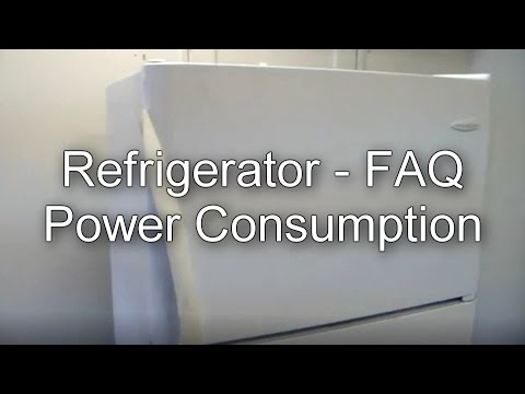 How Much Electricity Refrigerators Use on Average