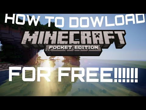 HOW TO DOWNLOAD MINECRAFT PE 0.16.0 FOR FREE ANDROID!!!!