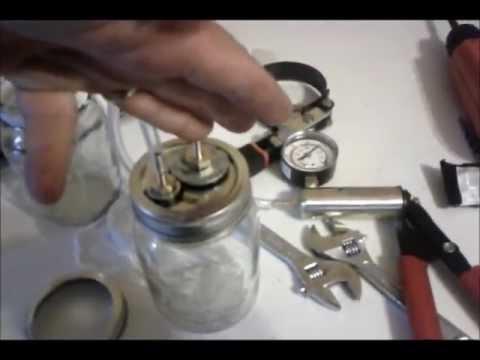 Brake Bleeding air tight jar