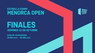 Finales - Estrella Damm Menorca Open 2019 - World Padel Tour