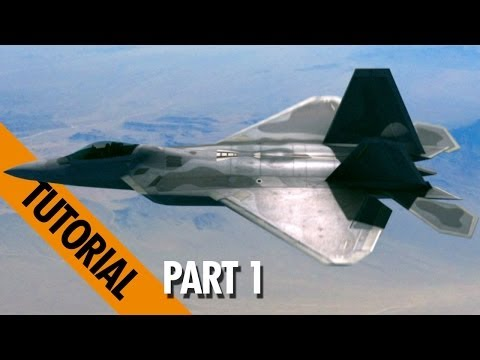 Create Realistic Jet Scenes in Adobe After Effects - part1