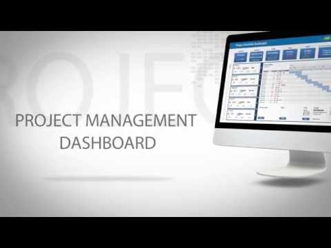 YooProject - Excel project management dashboard