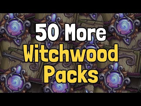 Opening 50 More Witchwood Packs - Hearthstone
