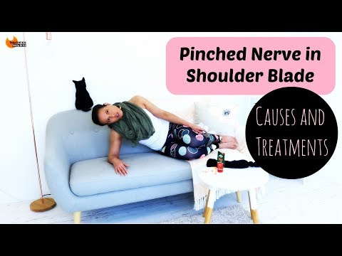 Pinched Nerve in Shoulder Blade - One Shoulder Higher than other - Cause and Treatment BARLATES