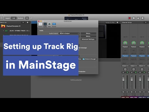 How to Setup Track Rig in MainStage