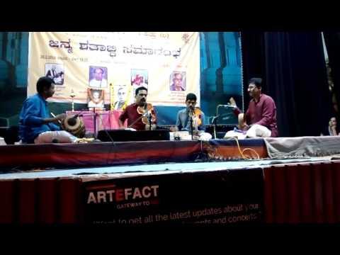 Sarasa Sama Dhana- Kapinarayani -7 string Violin by Vid.N.Venkatesh