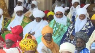 President Buhari Attends Durbar In Honour of Sultan's  10th Anniversary