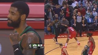 Kyrie Irving Schools James Harden Using His Own Move Then Harden Shocks Rockets Crowd!