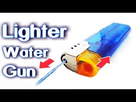 How To Make Lighter Water Gun!