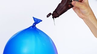CHOCOLATE FILLED WATER BALLOON!