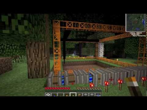 Minecraft Technic Pack - How to make a Quarry!