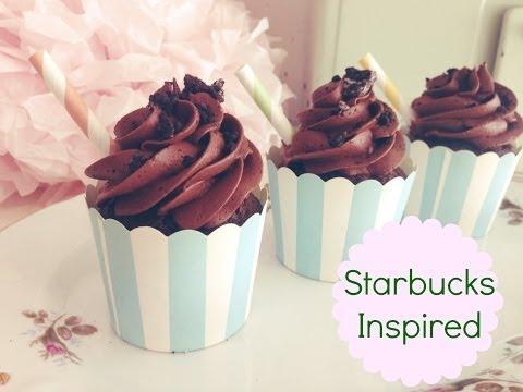 Starbucks Mocha Cookie Crumble Frapp Cupcake