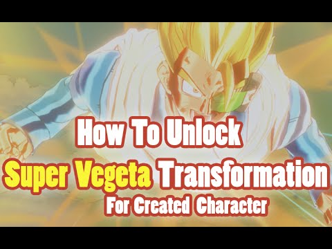 Dragon Ball Xenoverse: How To Unlock Super Vegeta 2 Transformation For Custom Created Characters
