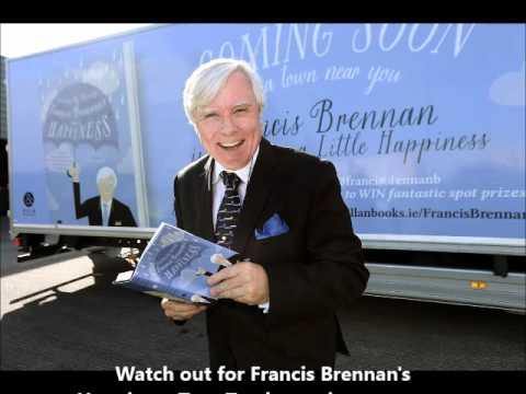 Watch Francis Brennan get ready for his tour around Ireland!