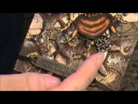 Steampunk Bee Tag