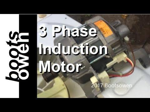 Washing Machine Motor Wiring Explained (3 Phase Induction)