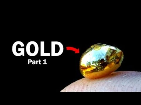 Recovering Gold from Computer Scrap - Part 1