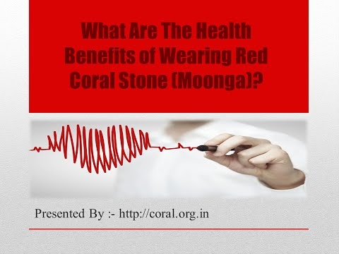 Health Benefits of Wearing Red Coral Gemstone