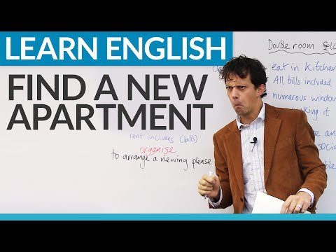 Real English: Phrases for finding an apartment