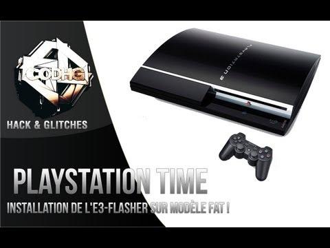 Playstation Time n°4 || Tuto: Installation de l'E3-Flasher sur modèle FAT !