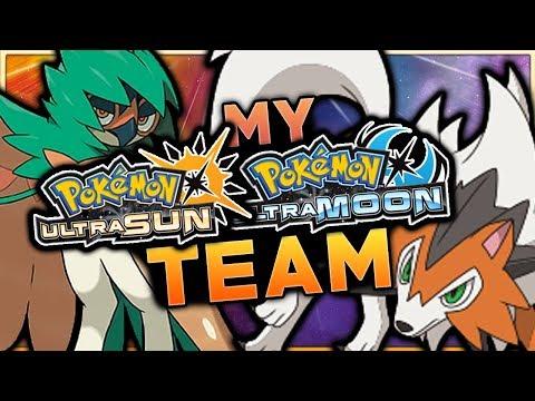 My Pokemon Ultra Sun And Ultra Moon Team!