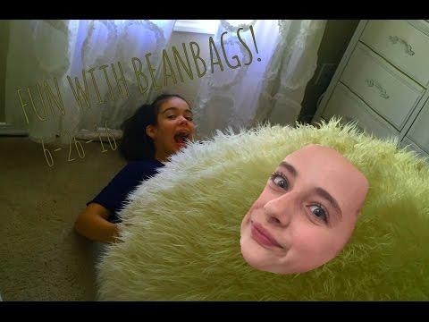 PLAYING WITH A GIANT BEANBAG!| Isis Eggleston