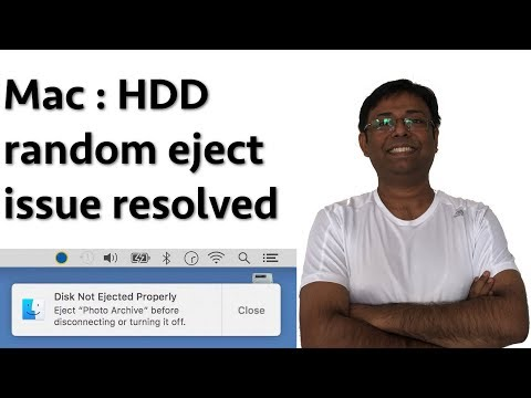 Prevent random Hard Disk ejects on a Mac