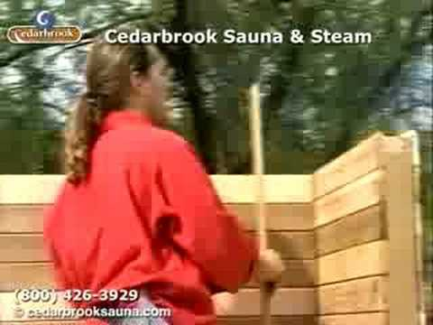 How to Build a Sauna: Installing the Sauna Walls