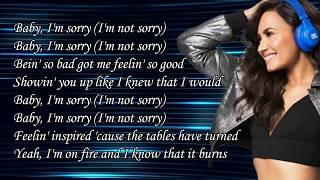 Demi Lovato - Sorry Not Sorry Lyrics