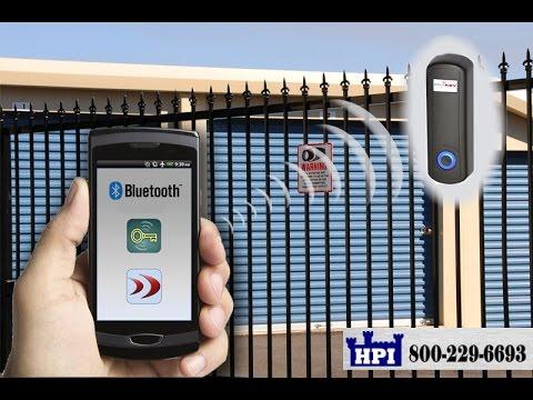 Smartphone Bluetooth Door or Gate Access Control Reader