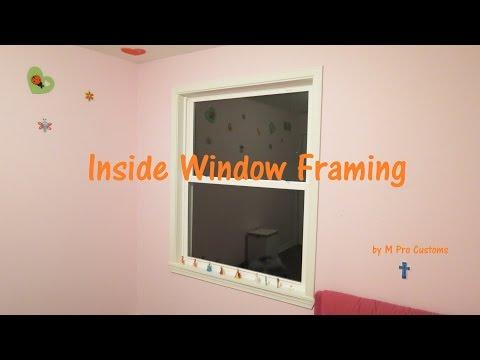 Inside Window Framing