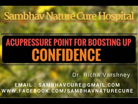 How to Increase / Boost self confidence naturally in Hindi - Acupressure Home Remedies Video