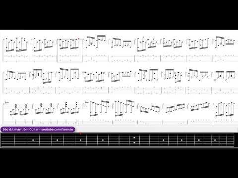 Bèo dạt mây trôi - Guitar tab - Tập đánh guitar