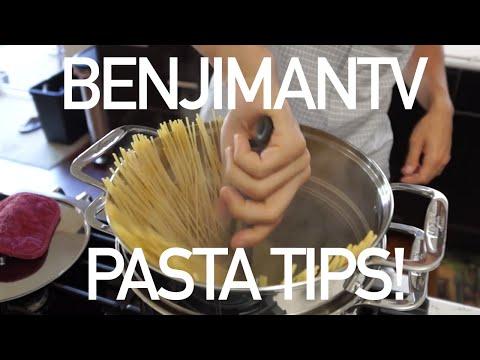 How to Cook Pasta (Pasta Cooking Tips) - BenjiManTV