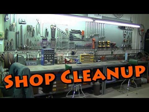 Shop Garage Cleanup and Organization Part 1