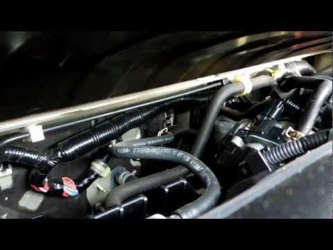2008 Honda Civic LX Throttle Position Sensor TPS Location