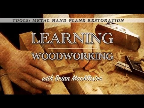 Tools: Metal hand plane restoration