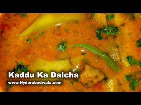 Kaddu Ka Dalcha Recipe Video – Bottle gourd Mutton Curry – Easy & Healthy Cooking (English)