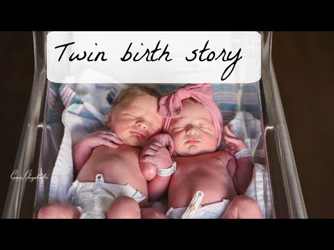 TWIN BIRTH VLOG! THEY'RE HERE!