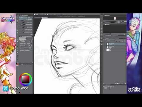 Drawing Tutorial: Sketching a Character from Scratch