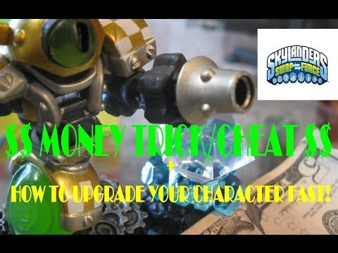 Skylanders Swap Force Money Trick / Cheat (How To Upgrade Your Character Fast)