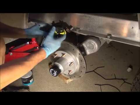 Tie Down G5 11.75' Trailer Brake Installation