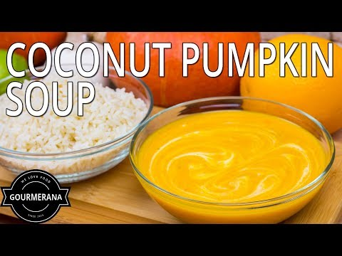How To Make Spicy Vegan Pumpkin Coconut Soup - Stop Motion Animation