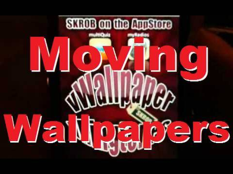 How To Get Moving HD Wallpapers on iOS 4.0 on iPhone 4 & iPod Touch - vWallpaper