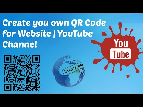 How to Create QR Code for Website | YouTube Channel | Free QR Code Generator