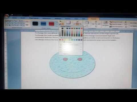 Ms word shapes 2007 coaching in hindi part 10