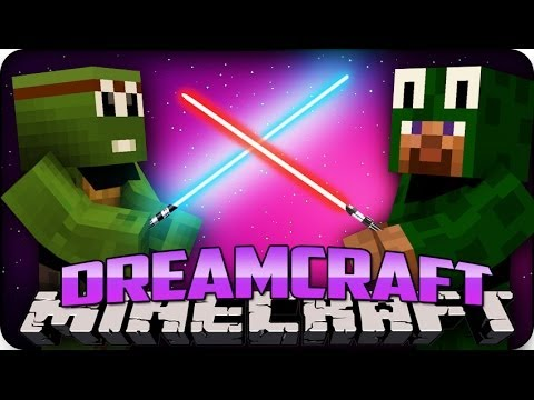 Minecraft Mods - DREAM CRAFT - Ep # 2 LASER FARMS & LIGHTSABERS!!' (Futuristic Modded Let's Play)