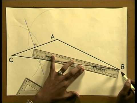 Naming Triangles & Constructions in the Scalene Triangle