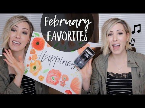 FEBRUARY FAVORITES! | I cut all my hair off!