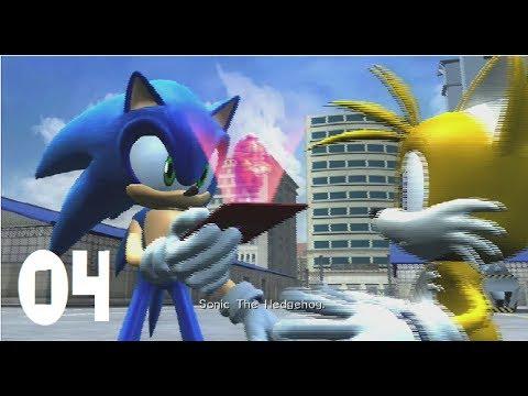 Sonic The Hedgehog 2006 Part 4 Warehouse & White Acropolis (Xbox 360)